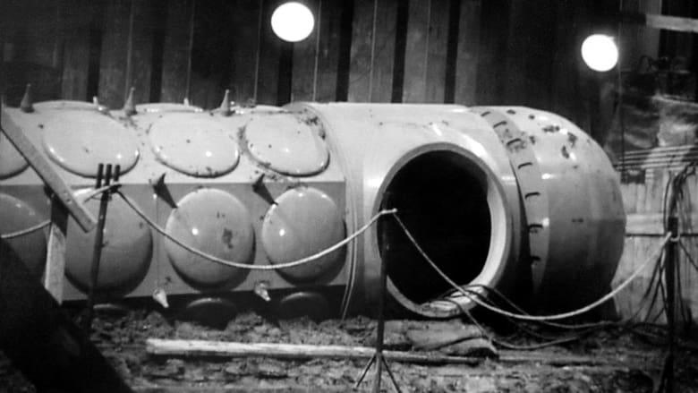 Alien spaceship in pit