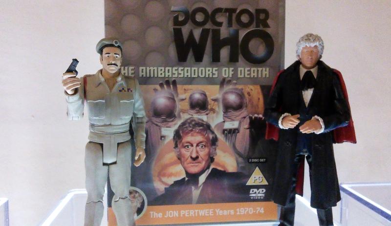Ambassadors of Death DVD case