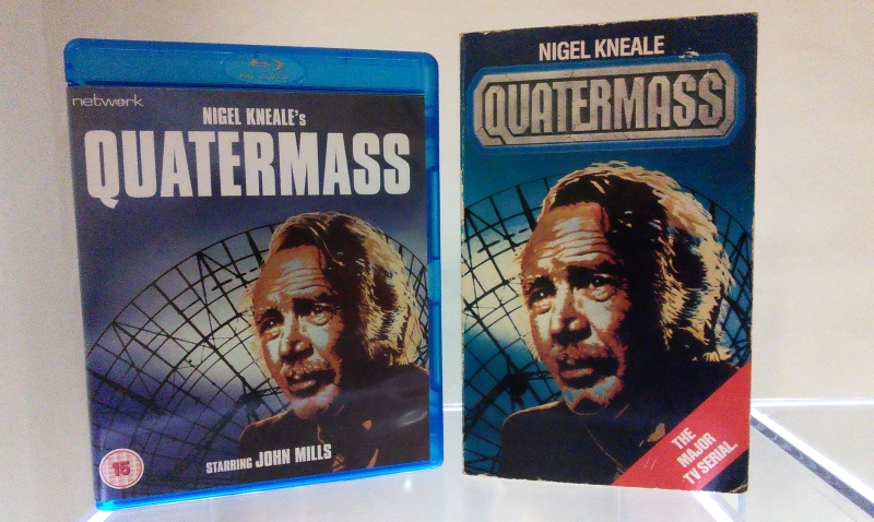 Quatermass blu-ray case and novelisation