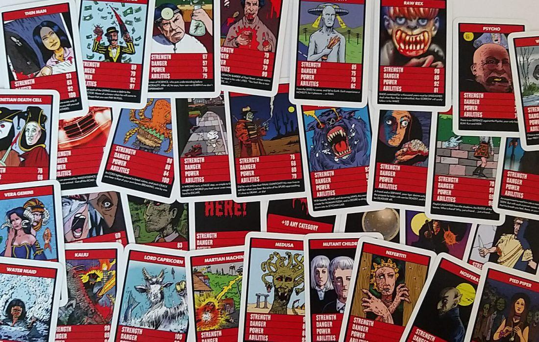 Spread of horror trump cards