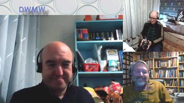 Brian, Nigel & Gareth on Skype